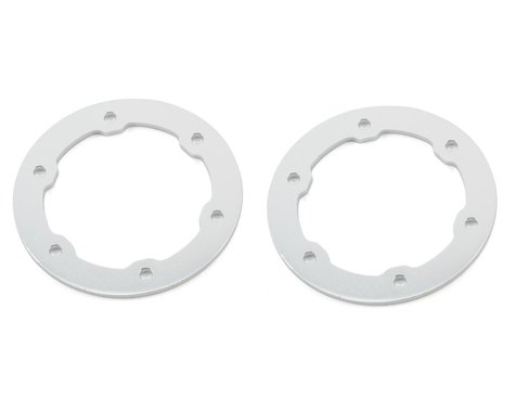 ST Racing Concepts Aluminum Beadlock Rings (Silver) (2)