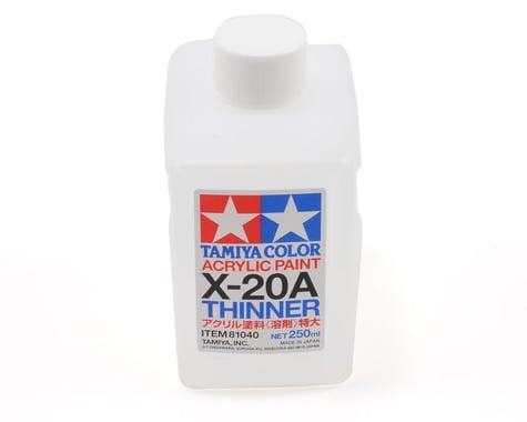 Tamiya X-20A Acrylic/Poly Paint Thinner (250ml)