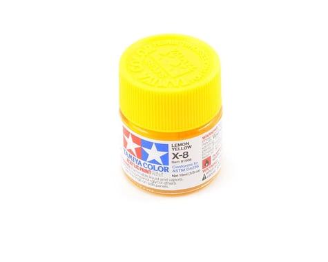 Tamiya X-8 Lemon Yellow Acrylic Paint (10ml)