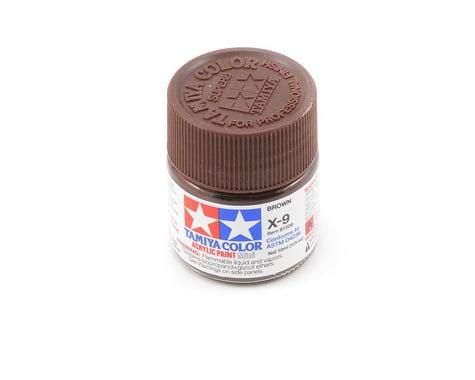 Tamiya X-9 Brown Acrylic Paint (10ml)