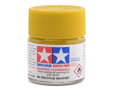 Tamiya XF-3 Flat Yellow Acrylic Paint (10ml)