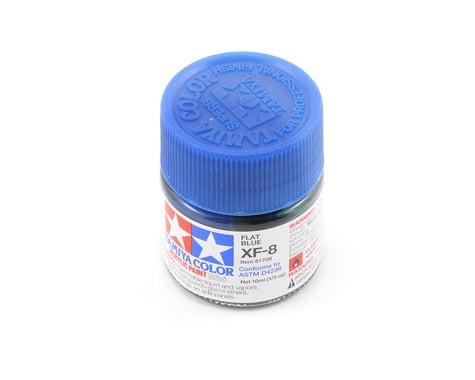 Tamiya XF-8 Flat Blue Acrylic Paint (10ml)