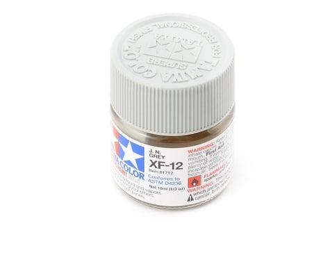 Tamiya XF-12 J.N. Flat Gray Acrylic Paint (10ml)