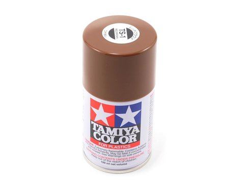 Tamiya TS-1 Red Brown Lacquer Spray Paint (100ml)