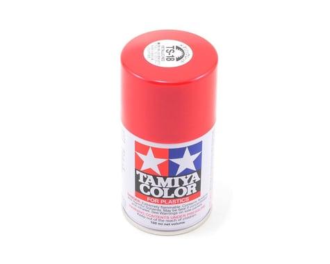 Tamiya TS-18 Metallic Red Lacquer Spray Paint (100ml)