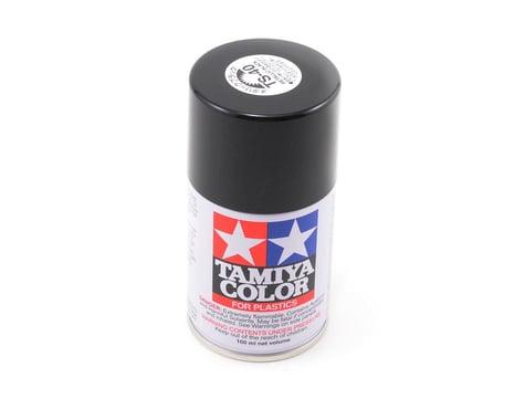 Tamiya TS-40 Metal Black Lacquer Spray Paint (100ml)
