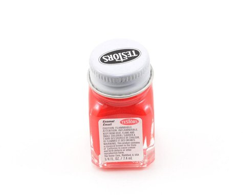 Testors Red Enamel Paint 1/4oz