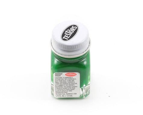 Testors Flat Green Enamel Paint 1/4oz