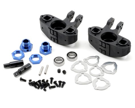 Tekno RC Axle Carriers w/17mm Adapters