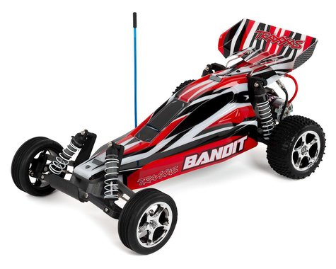 Traxxas Bandit 1/10 RTR 2WD Electric Buggy (Red)