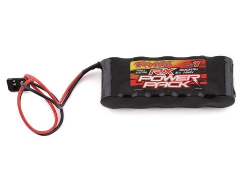 Traxxas 5-Cell Flat Receiver NiMH Battery Pack (6.0V/1100mAh)
