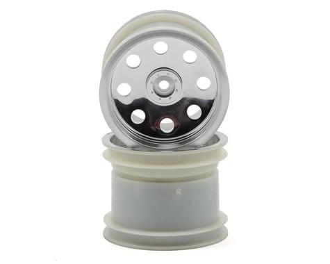 "Traxxas 12mm Hex 2.2"" Rear Stadium Truck Wheel (2) (Satin Chrome)"
