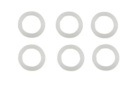 Traxxas Plastic Washers (White) (6)