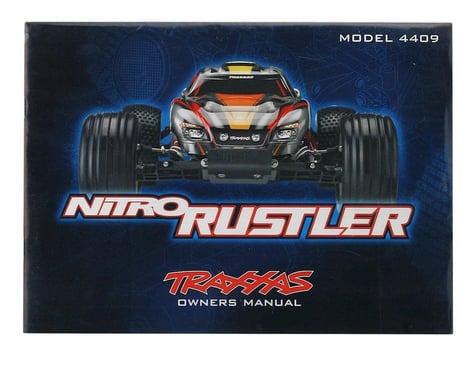 Traxxas Owners Manual (Nitro Rustler)