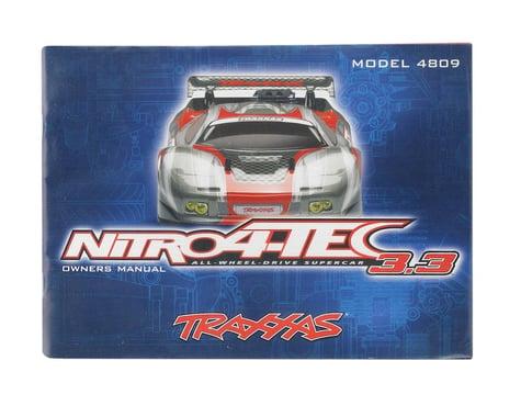 Traxxas Owners Manual (Nitro 4-Tec 3.3)