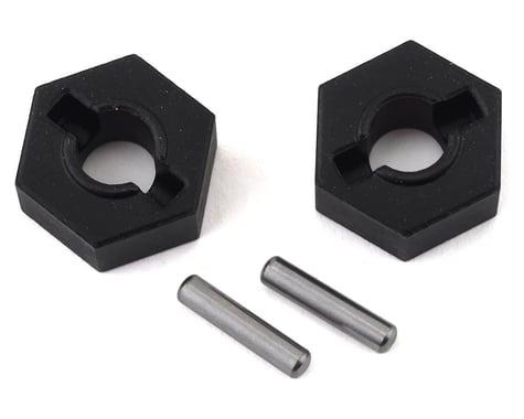 Traxxas Steel 14mm Hex Wheel Hubs w/2.5x12mm Axle Pins (2)