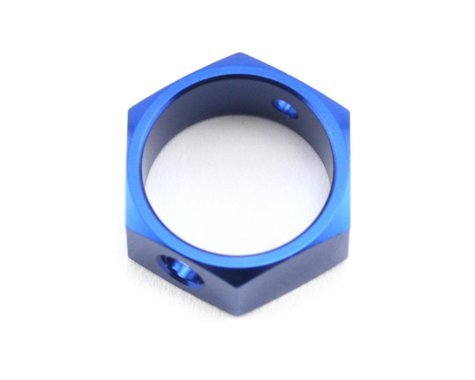 Traxxas Aluminum Hex Brake Adapter (Blue) (TMX .15, 2.5 & 3.3)