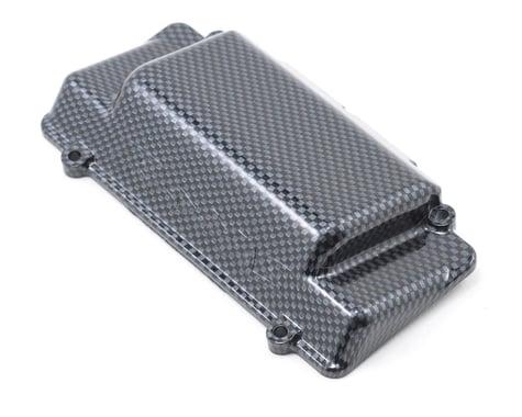 Traxxas Exo-Carbon Battery Cover, R Bumper (Jato)