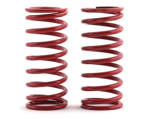 Traxxas Long Shock Springs (Red w/Double Orange Stripe - GTR 5.4) (2) (Summit)