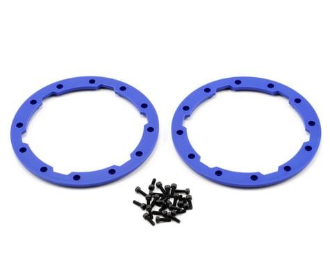 Traxxas Beadlock Style Sidewall Protector w/Hardware (Blue) (2)
