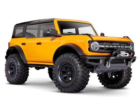 Traxxas TRX-4 1/10 Trail Crawler Truck w/2021 Ford Bronco Body (Orange)