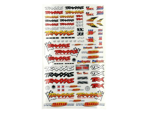 Traxxas Official Team Racing Decal Set (Flag Logo/6-Color)