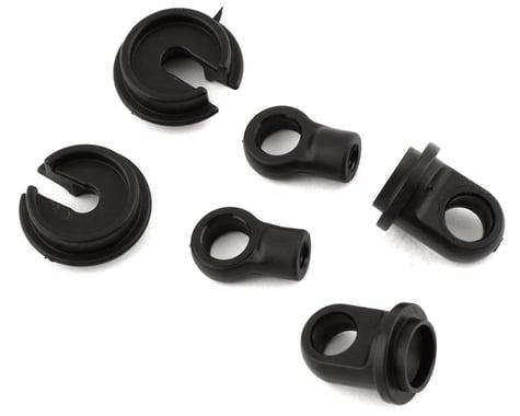 Xray 4-Step Composite Frame Shock Parts (Short) (T2 008)