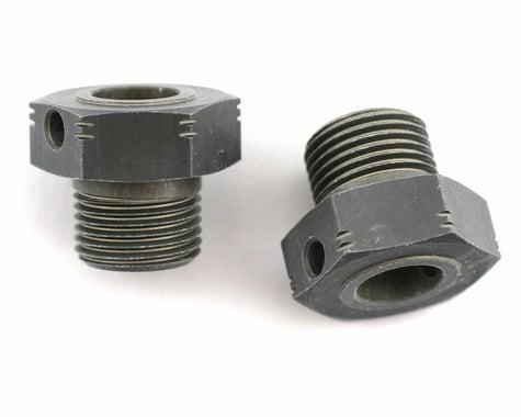 """XRAY Aluminum Wheel Axle Offset """"+2mm"""" - Hard Coated (2)"""