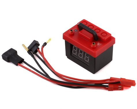 Xtra Speed Scale LiPo Battery Voltage Checker w/Alarm (2S/3S)