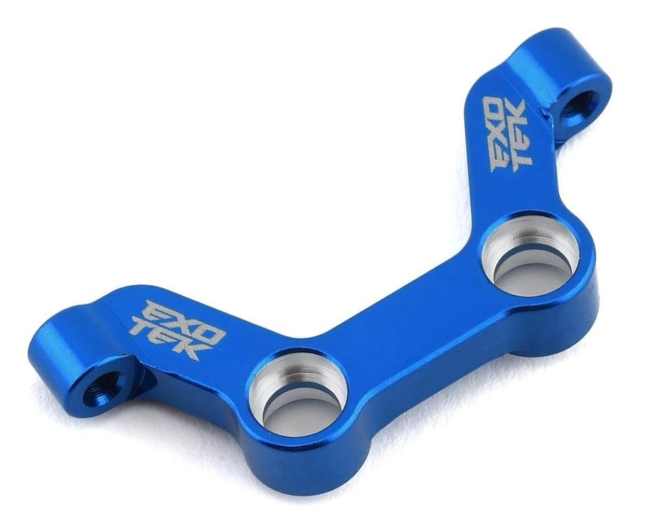 Exotek DR10 Aluminum HD Steering Rack (Blue) EXO1943