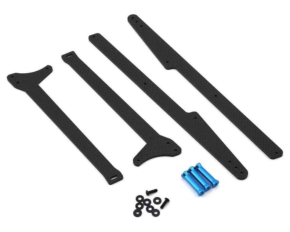 Exotek DR10 Adjustable Wheelie Bar Set EXO1962