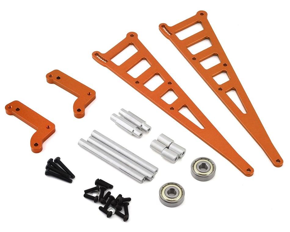 ST Racing Concepts DR10 Aluminum Wheelie Bar Kit (Orange) SPTSTC71071O