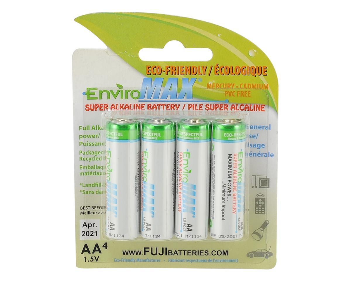 Fuji EnviroMAX AA Super Alkaline Battery FUG4300BP4