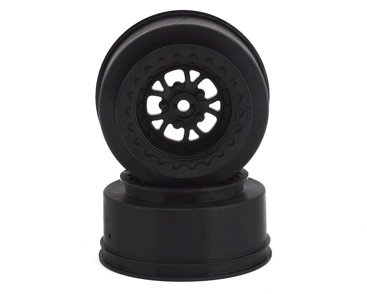Pro-Line Pomona Drag Spec Rear Drag Racing Wheels (2) w/12mm Hex (Black) PRO2776-03
