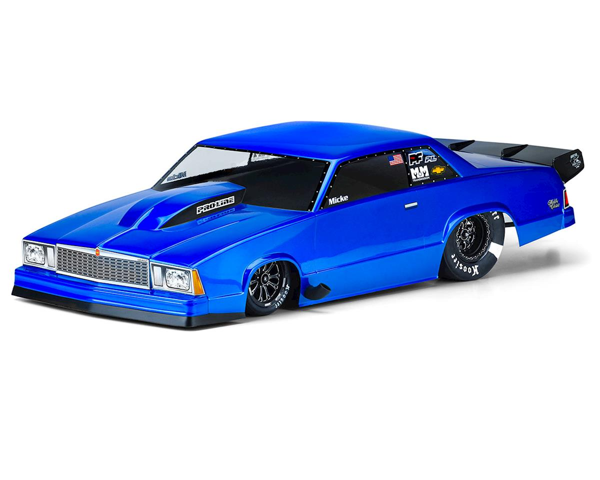Categories related to this product Pro-Line 1978 Chevrolet Malibu No Prep Drag Racing Body (Clear) PRO3549-00