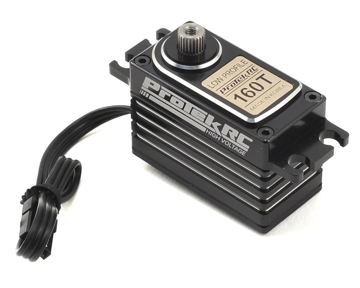 ProTek RC 160T Low Profile High Torque Metal Gear Servo High Voltage Metal Case PTK-160T